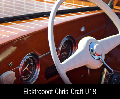 Elektroboot Chris Craft
