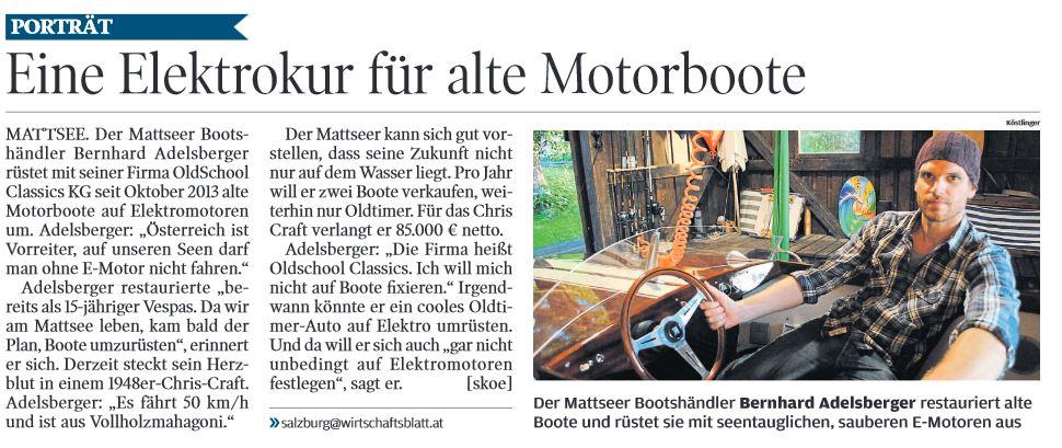 Artikel Oldschool Classics - Oldtimer Motorboote