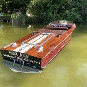 Mahagoni Elektroboot Oldtimer